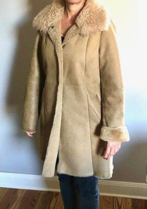 Christ Fur Jacket cream-light brown fur
