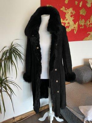 Patricia Pepe Manteau en cuir noir