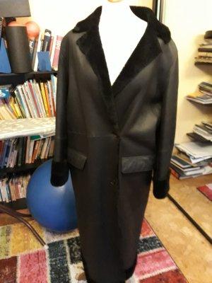 Pielini Abrigo de piel negro Pelaje