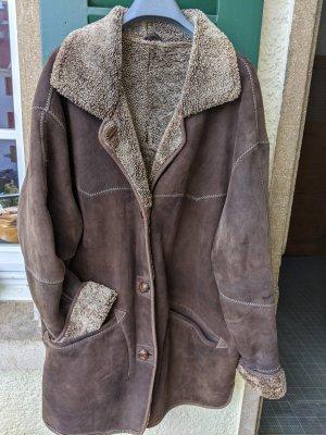 Vintage Fur Jacket dark brown