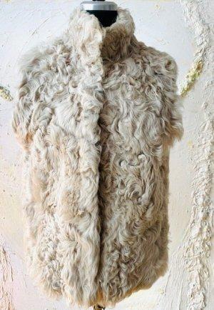 Smanicato di pelliccia multicolore Pelliccia