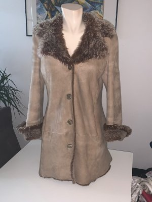JCC Cappotto in pelle multicolore Pelle