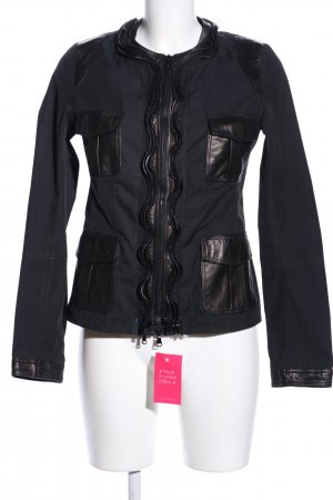 Benedetta Novi Between-Seasons Jacket black-bronze-colored casual look