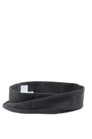Lana Pasek materiałowy czarny W stylu casual