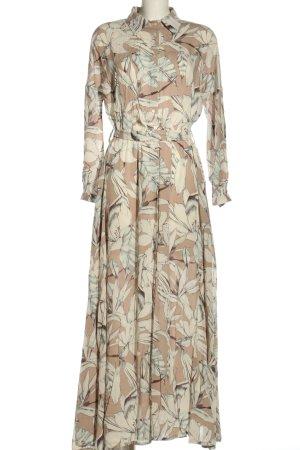 lana nguyen Vestido tipo blusón estampado repetido sobre toda la superficie
