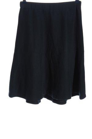 Lana Gebreide rok blauw zakelijke stijl