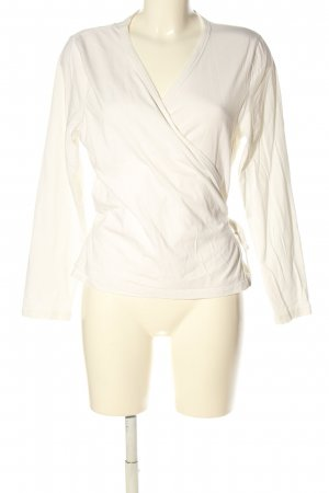 Lana Wraparound Shirt cream casual look