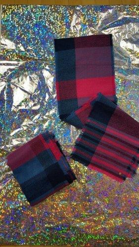 Esprit Bufanda de lana multicolor Algodón