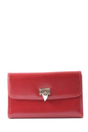 LANCASTER Portemonnee rood zakelijke stijl