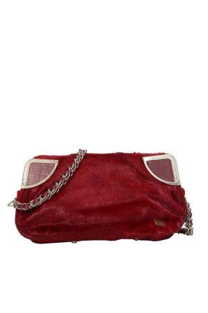 Lancel Clutch in Rot aus Leder