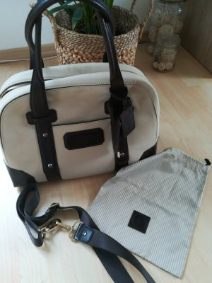 Lancel Weekender Bag cream