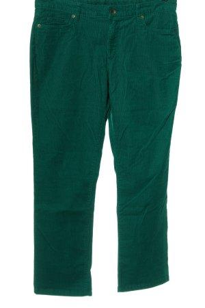 Land's End Pantalon en velours côtelé vert style décontracté
