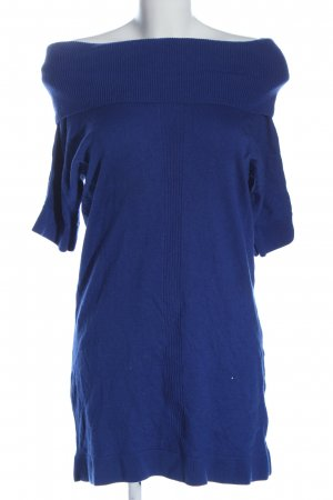 Land's End Sweater Dress blue casual look