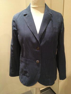 Lands' End Blazer en jean bleu acier lin