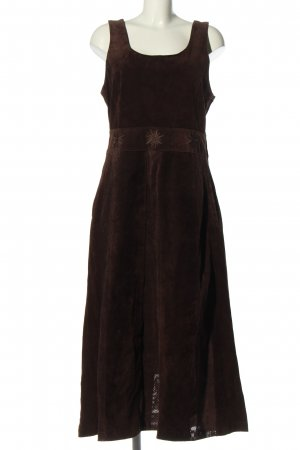 Landhaus by C&A Midi Dress brown embroidered lettering casual look