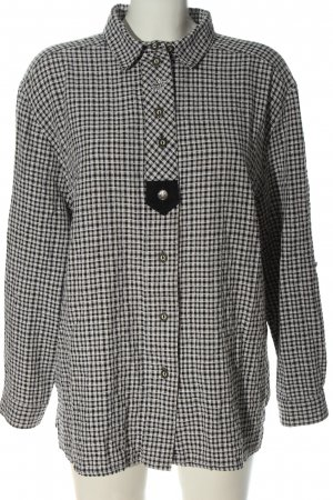 Landhaus by C&A Traditional Shirt white-black allover print classic style