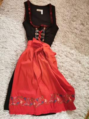 Landhaus by C&A Blouse Dress black-brick red