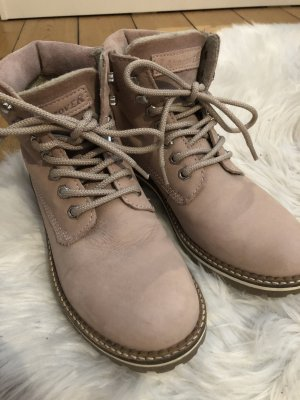 Landrover Lace-up Boots rose-gold-coloured