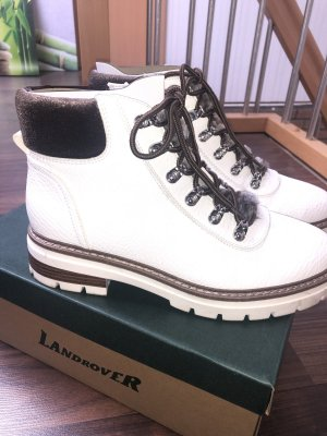 Landrover Ankle Boots white-black brown