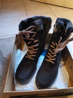 Landrover Botines de invierno negro-gris oscuro