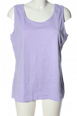 Lands' End Basic topje lila casual uitstraling