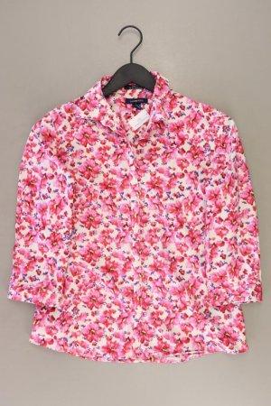 Lands' End Bluse Größe 36 mit Blumenmuster neuwertig 3/4 Ärmel rosa aus Baumwolle