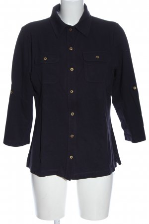 Lands' End Giacca a blusa nero stile casual