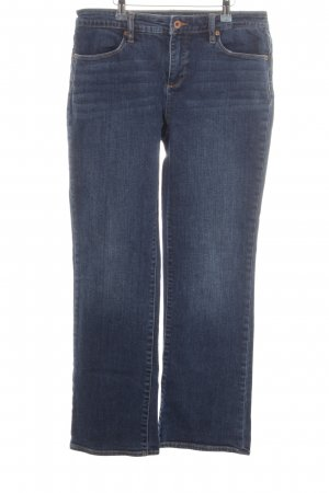 Lands' End Boot Cut Jeans blau Casual-Look