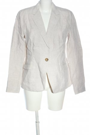 Lands' End Boyfriend Blazer natural white flecked business style