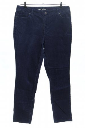 Lands' End Corduroy Trousers blue casual look