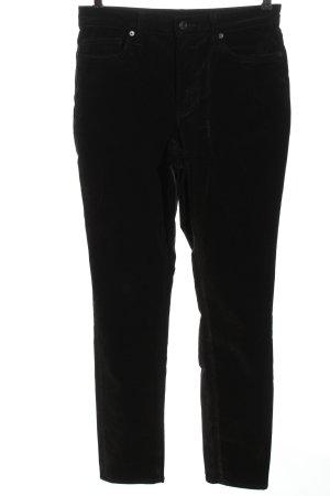 Lands' End Pantalone di velluto a coste nero stile casual