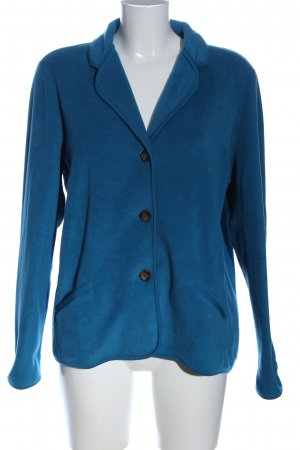Lands' End Giacca in pile blu stile casual
