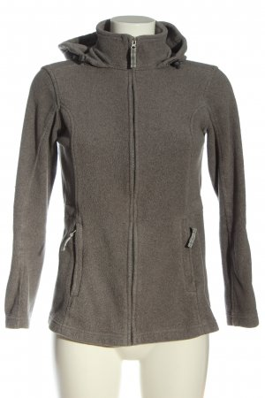 Lands' End Chaqueta de forro polar gris claro look casual