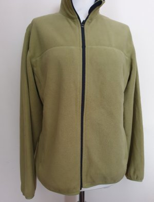 Lands' End Giacca in pile giallo lime-verde pallido