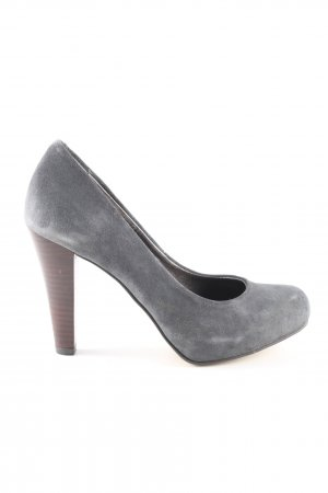 Lands' End High Heels hellgrau Casual-Look