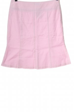 Lands' End Falda de talle alto rosa look casual