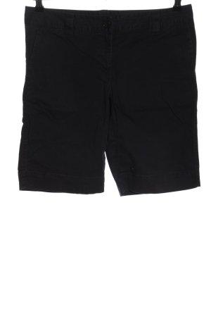 Lands' End Pantaloncino a vita alta nero stile casual