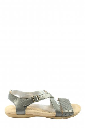 Lands' End Comfort Sandals black casual look