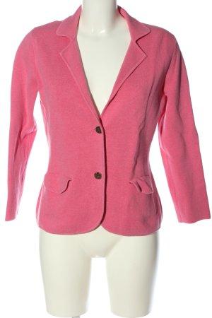 Lands' End Blazer corto rosa stile casual