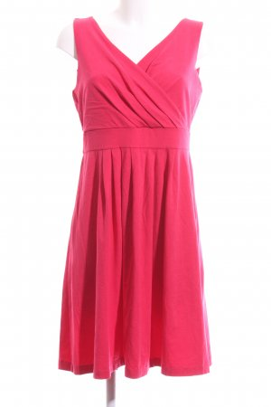 Lands' End Kurzarmkleid pink Elegant