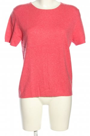Lands' End Kurzarmpullover pink Casual-Look