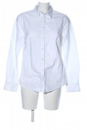 Lands' End Camicia a maniche lunghe bianco stile professionale