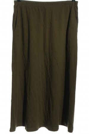 Lands' End Maxi Skirt khaki casual look