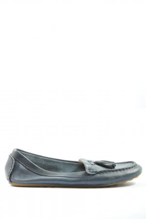 Lands' End Mocasines azul look casual