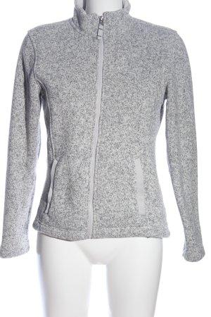 Lands' End Outdoor Jacket light grey flecked casual look