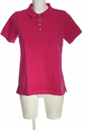 Lands' End Polo-Shirt pink Casual-Look