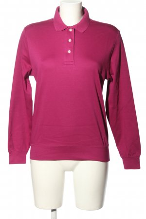 Lands' End Polo-Shirt violett Casual-Look