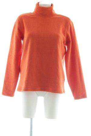 Lands' End Rollkragenpullover orange Casual-Look