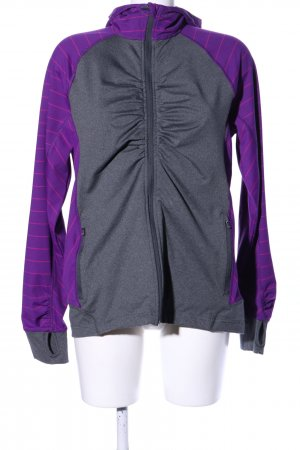 Lands' End Chaqueta deportiva lila-gris claro moteado look casual