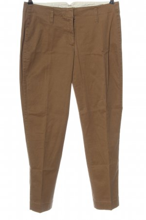 Lands' End Pantalone jersey marrone stile professionale